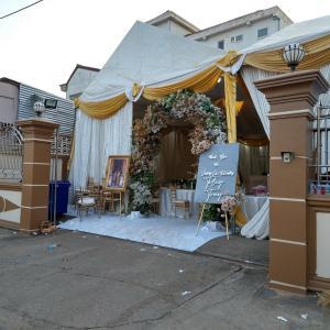 ラオスで結婚式に参加 (ビエンチャン・ラオス)