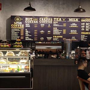 ビエンチャン市内に数店舗展開中のカフェ - Uno Coffee - (ビエンチャン・ラオス)