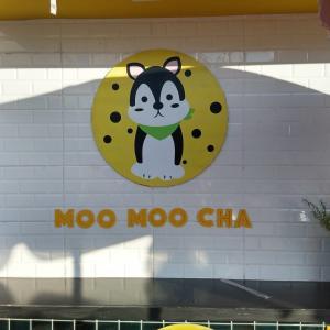 各地に増殖中の簡易ドリンク店 - MOOMOO CHA - (ビエンチャン・ラオス)