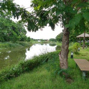 ่ジョギングやウォーキングに最適 - ノーンタセントラルパーク(Nongtha Central Park) - (ビエンチャン・ラオス)