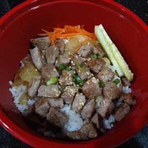 ロックダウンなのでフードデリバリーを使ってみました - リンリン牛丼(ລິນລິນ ເຂົ້າຫນ້າເນື້ອ) - (ビエンチャン・ラオス)