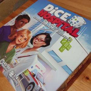 突撃!隣のボドゲ卓! Vol.013 ダイスホスピタル (Dice Hospital)