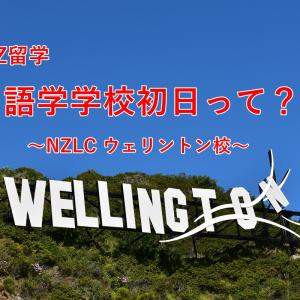 【NZ留学】語学学校初日~NZLC ウェイントン校~