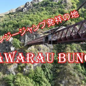 世界初のバンジージャンプ「Kawarau Bungy」に挑戦