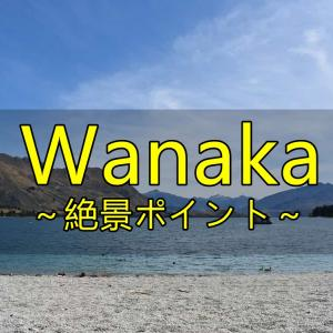 Wanakaのオススメ絶景観光スポット3選【NZ】