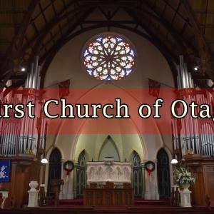 ダニーデンの教会「First Church Of Otago」