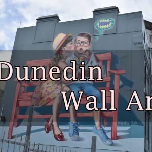 【ダニーデン】ウォールアートを探して散歩【ニュージーランド】