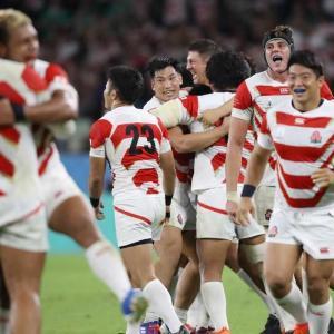 日本中が感動するラグビー日本代表の国籍をダシに差別問題に繋げる反日左翼番組サンデーモーニング