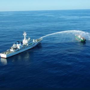 【ノーカット】水産庁と北朝鮮漁船の衝突映像公開!!北朝鮮のキチガイぶりがあきらかになる!!
