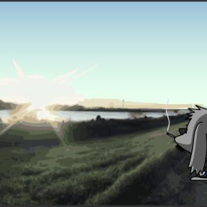 ミョグる! ウルトラライトソロキャンプ用焚火台の自作 2.ネットキューブ型焚火台