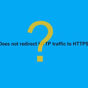 Lighthouseで「Does not redirect HTTP traffic to HTTPS」が表示された時の対処方法(XSERVER)