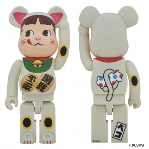 【BE@RBRICK fragmentdesign MICKEY MOUSE COLOR Ver.100% & 400%/1000%】 【BE@RBRICK 招き猫 ペコちゃん 蓄光 1000%】