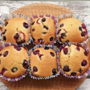 ブルーベリーカップケーキ