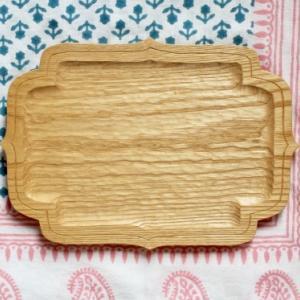 栗の皿 胡桃の皿