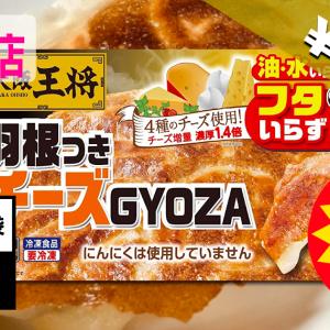 大阪王将 羽根付きチーズ餃子240個 4,998円!半額以下送料無料