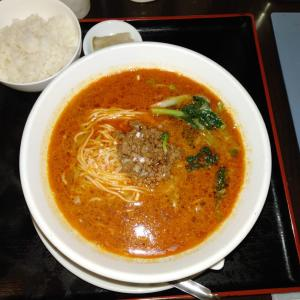 「中国四川料理 松の樹」で、ランチメニューの担々麺を食べてみた