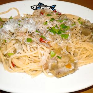 シチリア料理店トラットリア・レ・サルデにて、カルチョフィのパスタを食べてみた
