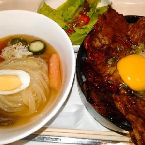 ぴょんぴょん舎オンマーキッチン ラゾーナ川崎店で、盛岡冷麺と豚丼を食べてみた