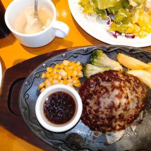 いわたき 川崎モアーズ店で、ビーフ100%ハンバーグを食べてみた