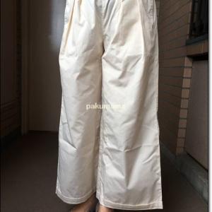 ワイド加減がちょうどいい、フェリシモの太パンツを買ってみた