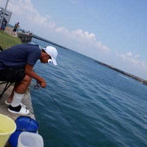 内灘放水路デイシーバスノマセ釣り