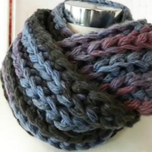 DIY! イギリスゴム編みをかぎ編みで編もう! スヌードの作り方