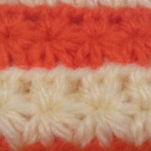 スタークロッシェの編み方