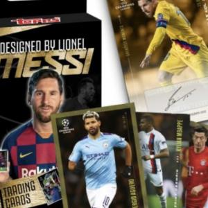 1時間程度で完売  2020 Topps - Lionel Messi Trading Card Set - Autograph Edition