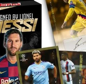 メッシのサイン必ず封入 2020 Topps - Lionel Messi Trading Card Set - Autograph Edition