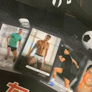 Topps Designed Cristiano Ronaldo 開封 Set