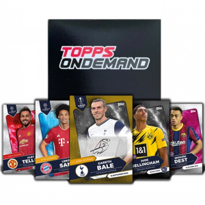 2020 Topps UEFA Champions League Summer Signing Set 2ボックス開封