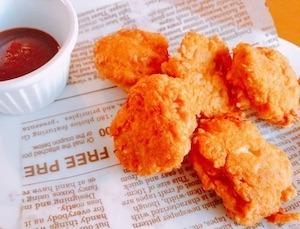お弁当おかずやおつまみに食べる簡単チキンナゲットのレシピ