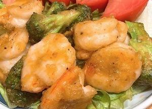 焼いて混ぜるだけ簡単海老とブロッコリーのマヨネーズ和えレシピ