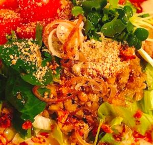 豆腐と納豆をつかった簡単温ったか素麺のレシピ