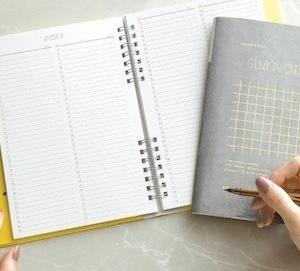 仕事やスケジュールを分かりやすく整理して効率をあげるノート