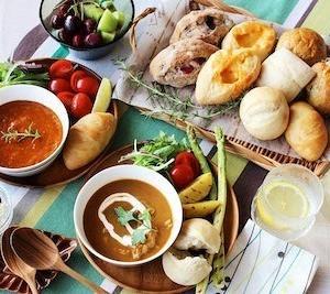 焼きたての食感と風味を食べることができる冷凍パン