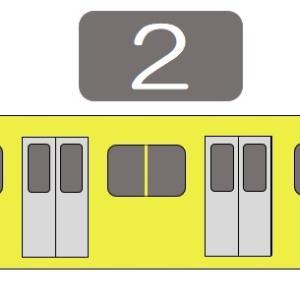 【鷹の台駅】西武国分寺線(東村山方面)の階段・エレベーター付近の降車位置情報