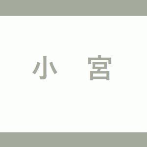 【JR小宮駅】ホームの階段・エレベーターに近い降車位置情報