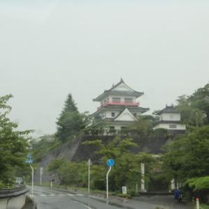 涌谷城を見学してから鳴子温泉で湯巡り