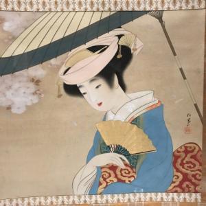 福田美術館の美人画展に立ち寄ってから、METライブビューイングで「ラインの黄金」を鑑賞