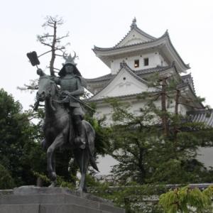 大垣城と大垣市街の散策後、草津で宿泊、しかし夜中に予想外のトラブル発生。