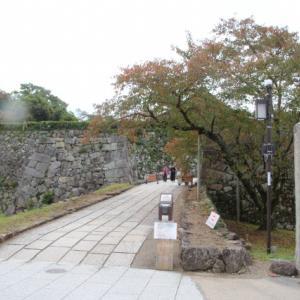 帰りは丹波篠山に立ち寄って篠山城を見学する