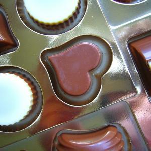 バレンタインに(妻とひー様から)チョコをもらいました。