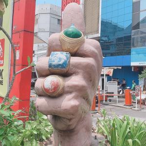 インドネシア3日目 日本人街ブロックМエリアに行ってみた