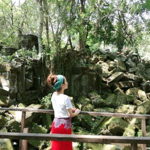 シェムリアップのベンメリア遺跡(ラピュタのモデル)とトレンサップ湖に行ってみた!