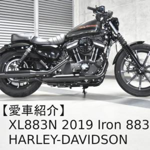 【愛車紹介】XL883N 2019 Iron 883   ハーレーダビッドソン