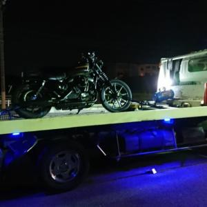 バイク故障時のレッカー体験談。ロードサービスは必ず加入しておこう。