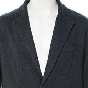 【テーラードジャケット】ヘリンボーンテーラードジャケット (チャコール) 商品番号 S5095