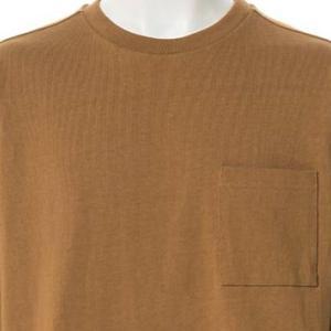 【長袖Tシャツ】OE天竺ロT (テラコッタ) 商品番号 S5930