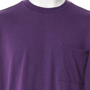 【長袖Tシャツ】天竺長袖Tシャツ (パープル) 商品番号 S5611